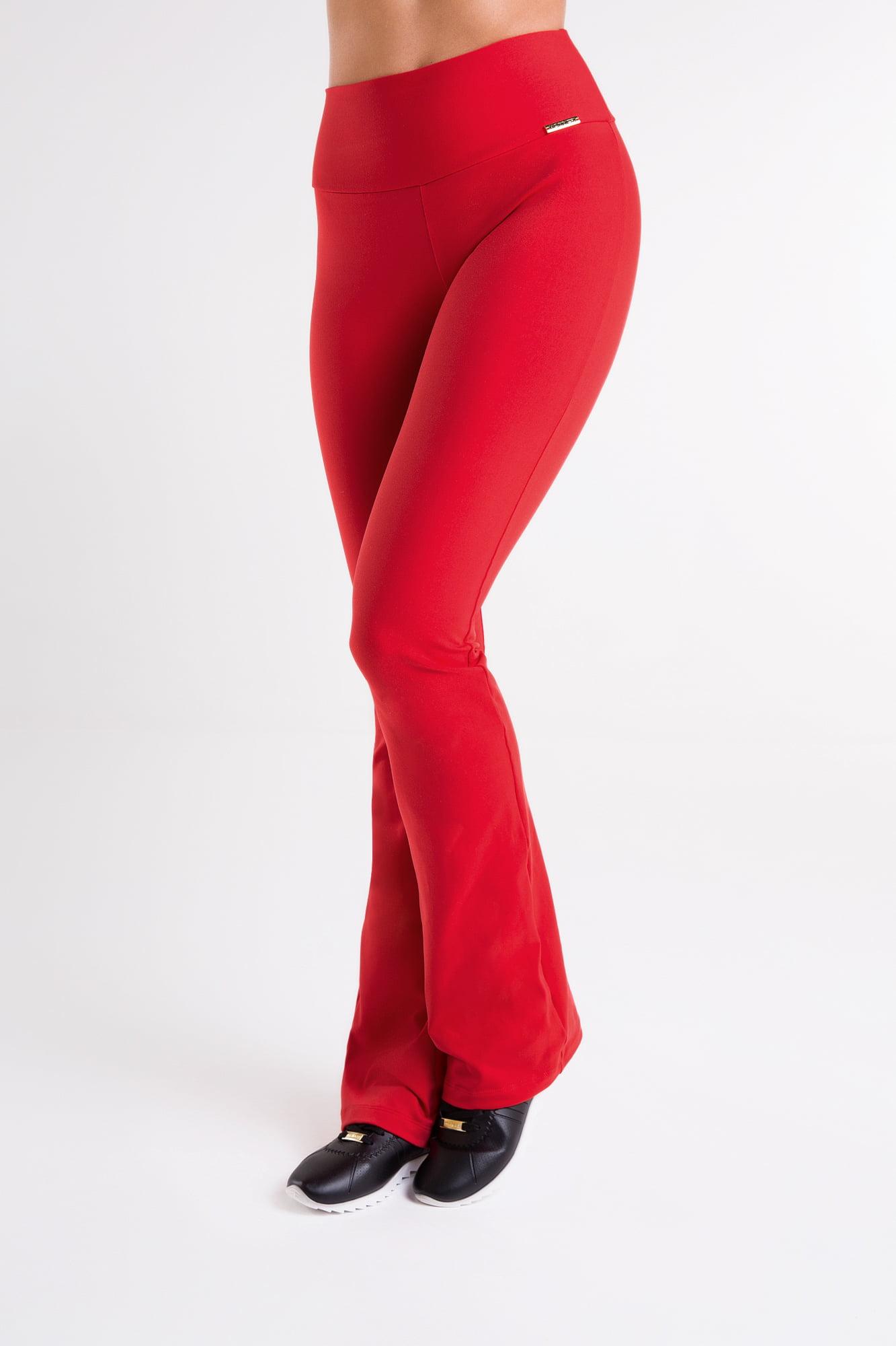 Calça Bailarina Vermelha