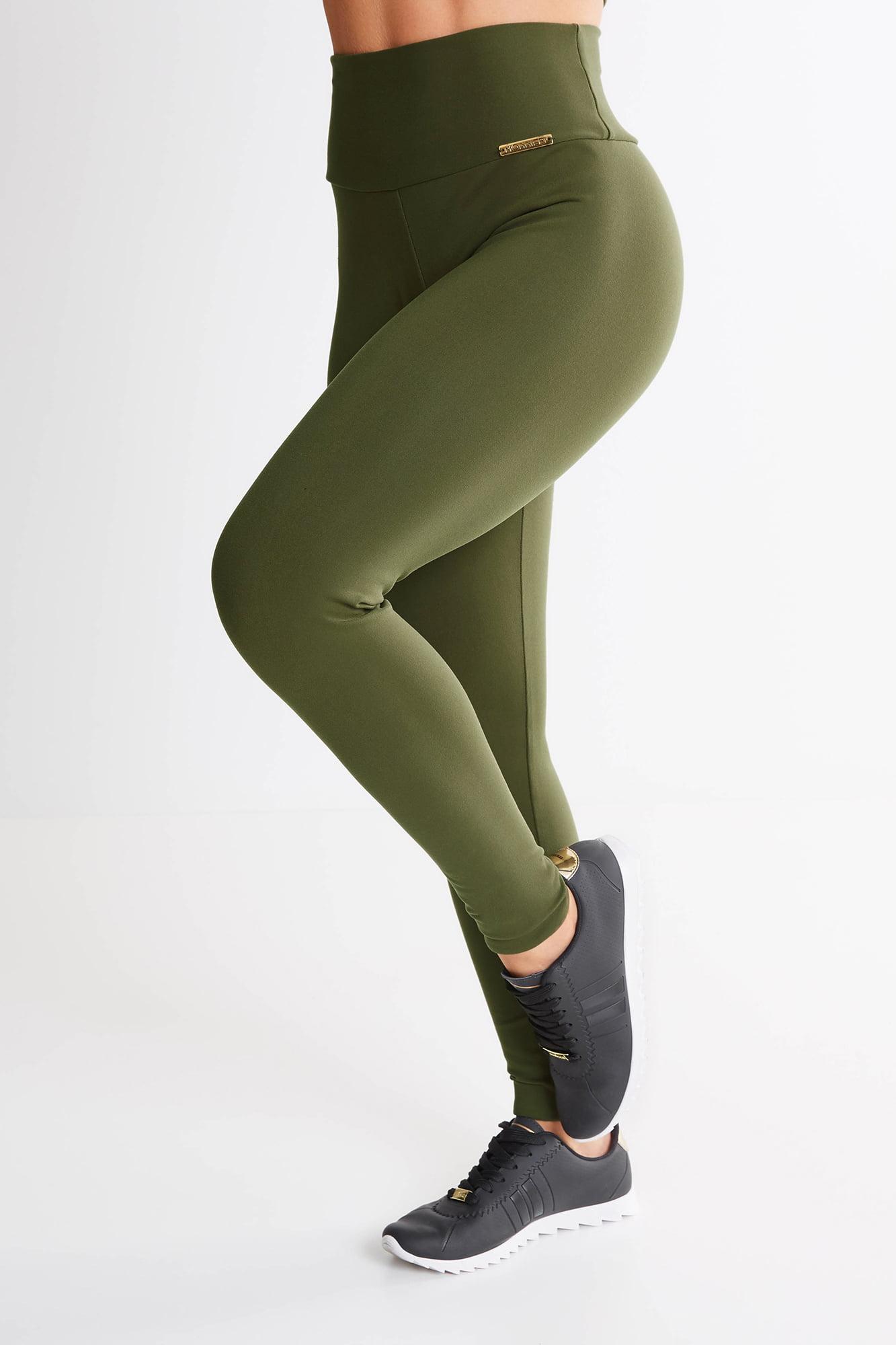Calça Legging Verde Militar