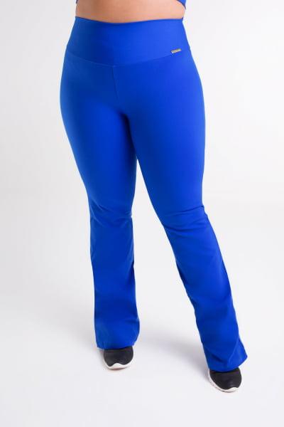 Calça Bailarina Azul Bic Plus Size