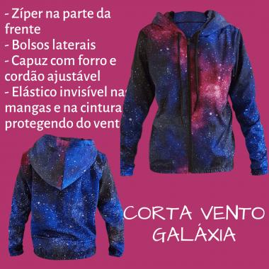 JAQUETA CORTA VENTO GALÁXIA