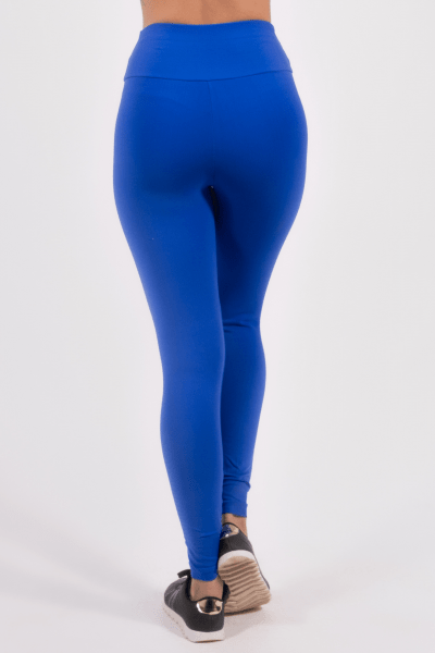 Calça Legging Azul Bic Plus Size