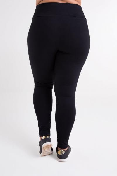 Calça Montaria Preta Plus Size